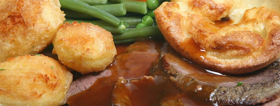 SUNDAY LUNCH 29th OCTOBER