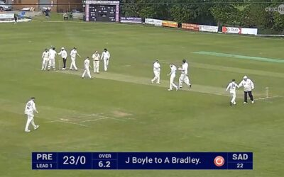 HIGHLIGHTS – PCC 1XI v Saddleworth