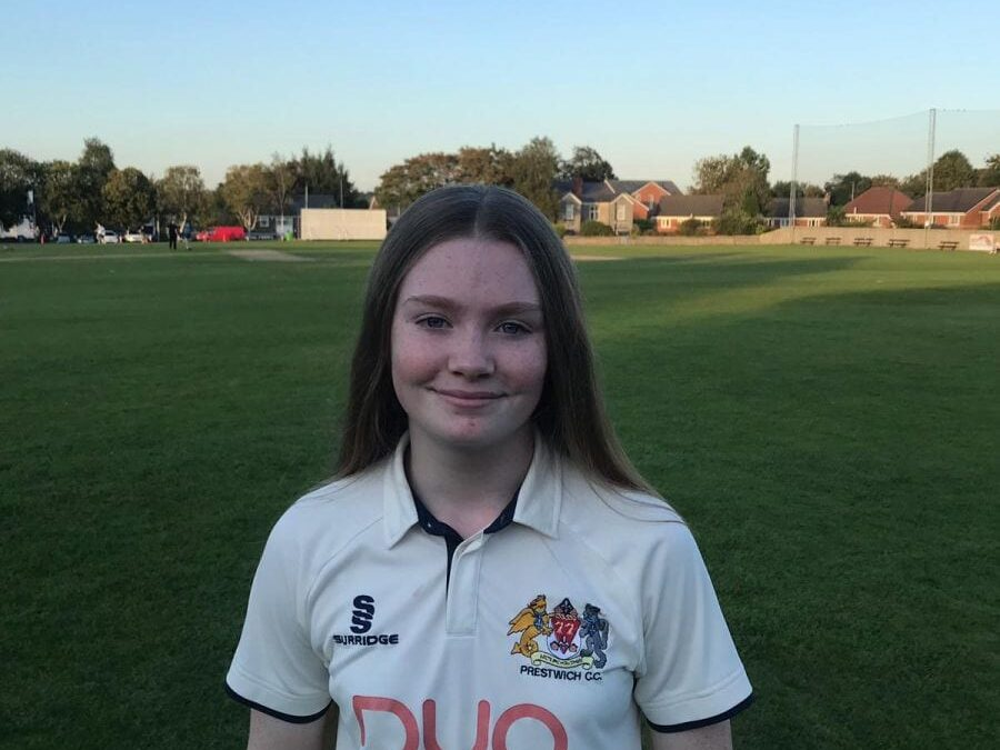 DAISY TAKES A WICKET ON HER HISTORY-MAKING DEBUT
