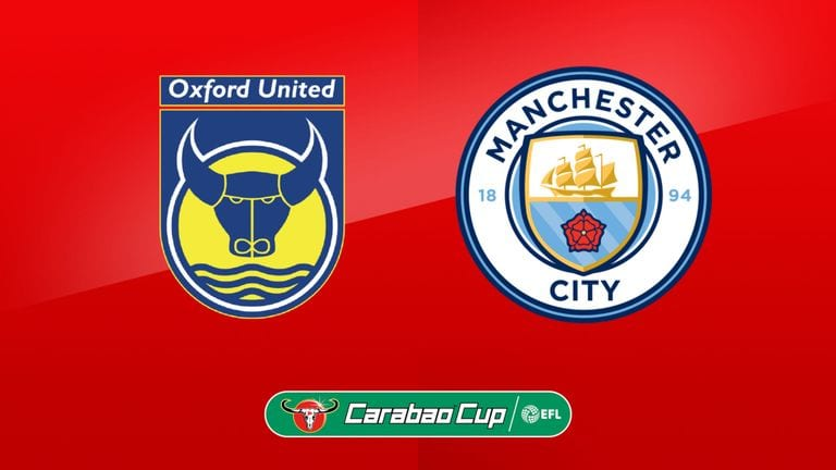 OXFORD V MAN CITY AT THE CLUB TONIGHT –  £2.50 A PINT
