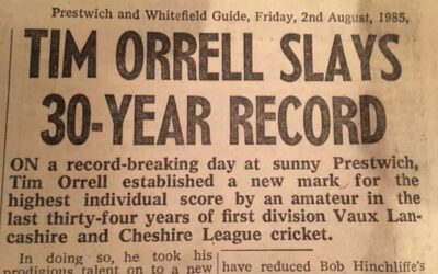 THE DAY A LEAGUE BATTING RECORD WAS SMASHED