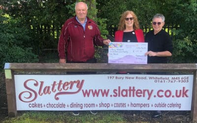 Prosecco & Slattery Cake Days for Bury Hospice